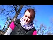 Yound Redhead Handjob at PLayground