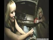 Handjob In The Car With Mom and Daughter