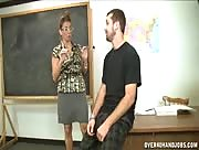Forced Handjob In The Classroom