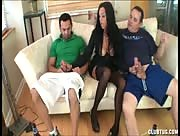 Double Fisted - Mom Catching Two Guys Watching Porn