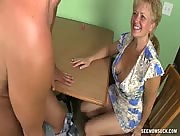 Horny Milf Sucks Her Husband's Cock