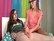 Connor Coxxx Gets His Dick Jerked by Cadence Lux