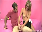 Billy Blast unloads his goo