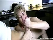 Milf Helps Young Guy Jerk Off