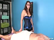 Cock Handjob Massage Punishment