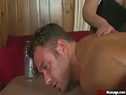 Male Hot Guy Chad White Gets Orgasm Ruined at Mean Massage