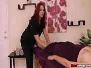 Redhead Brianna From Mean Massage