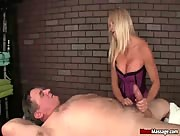Dani Dare Insane teasing and Edging Handjob