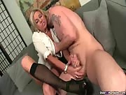 Sheer Stockings and high heels handjob - Escort Lover