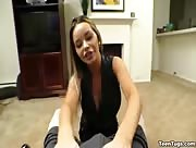 Rachele Richey hot teen POV handjob