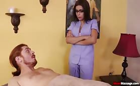 Arab Handjob - Aaliyah Hadid Tied and Bound!