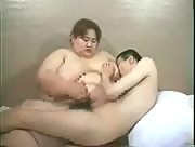 Asian BBW Handjob Action