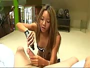 Asian Stripper Handjob
