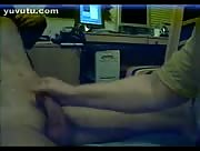 Handjob Recorded On Webcam