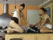 Two Girls Fem Dom Handjob