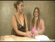Stacie Starr and Some Chick Named Amber from Over 40 Handjobs  Massage Happy Ending