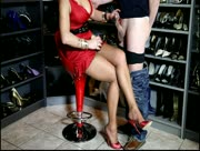 Heels Handjob - Getting Jerked By High Heels