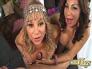 Two MILFS Marcella Guerra and Sandra Martines Duo Tug