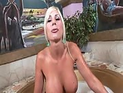 Puma Swede Handjob and Tit Fucking