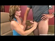 Milf Deauxma Handjob and Gets Her Bog Ol' Boobs Fucked!