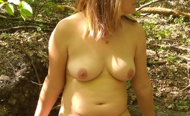 my first session naked in the forest