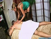 Busty MILF Nice And Tidy Massage Milking