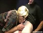 Horny Mom Milf Cock Sucking Her Son