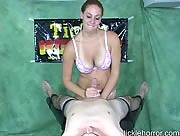 Mariah Tickling Blowjob / Handjob