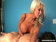 HUGE Boobs MILF Sally Dangelo Massage with Happy Ending