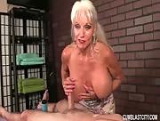 Nice Big Boob Granny! She Gives Great Masage