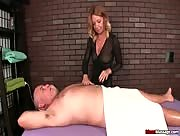 Ruined orgadm with MILF after Massage