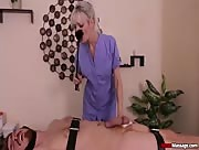 Post orgasm massage porn with Jane