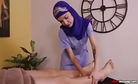Jericha Jem Hijab Massage and Ruined Orgasm