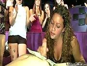 Male Stripper Handjob at DancingBear.com