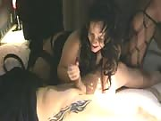 Cumshot On The Bed