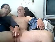 Home Made Elderly Couple Handjob