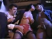 Retro Porn Film Group Handjobs