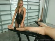 The Pleasure Dom Brutal Fem Dom Jerking