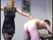 Humuliated, Spanked, Handjobbed and Milked By Sexy Blonde All For Money