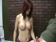 Redhead Catherine Fox Awesome Taxman Handjob