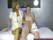 Mature MILF Tara Holiday Milking On The Massage Table