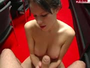 German Amateur Jerking On Red Carpet