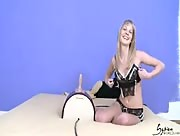 Sexy Girl Rides The Sybian