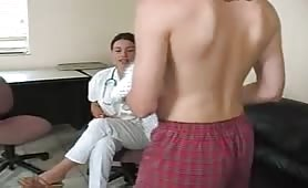 Nurse Handjob Plus really Bad Acting LOL