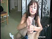 my mom making me cum